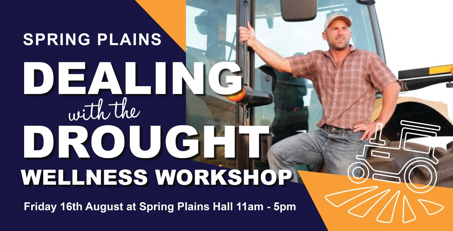 Dealing with the Drought Wellness Workshop.